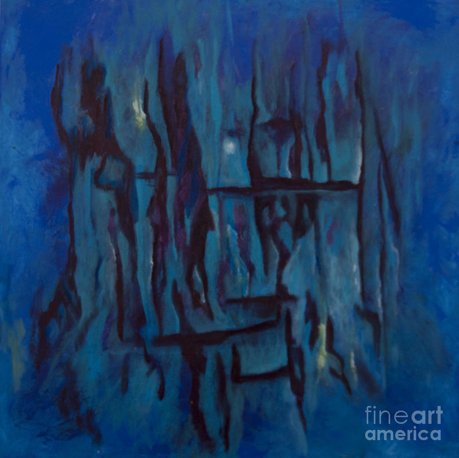 San Diego Artists Painting - Pay Attention to your Dreams by Bebe Brookman