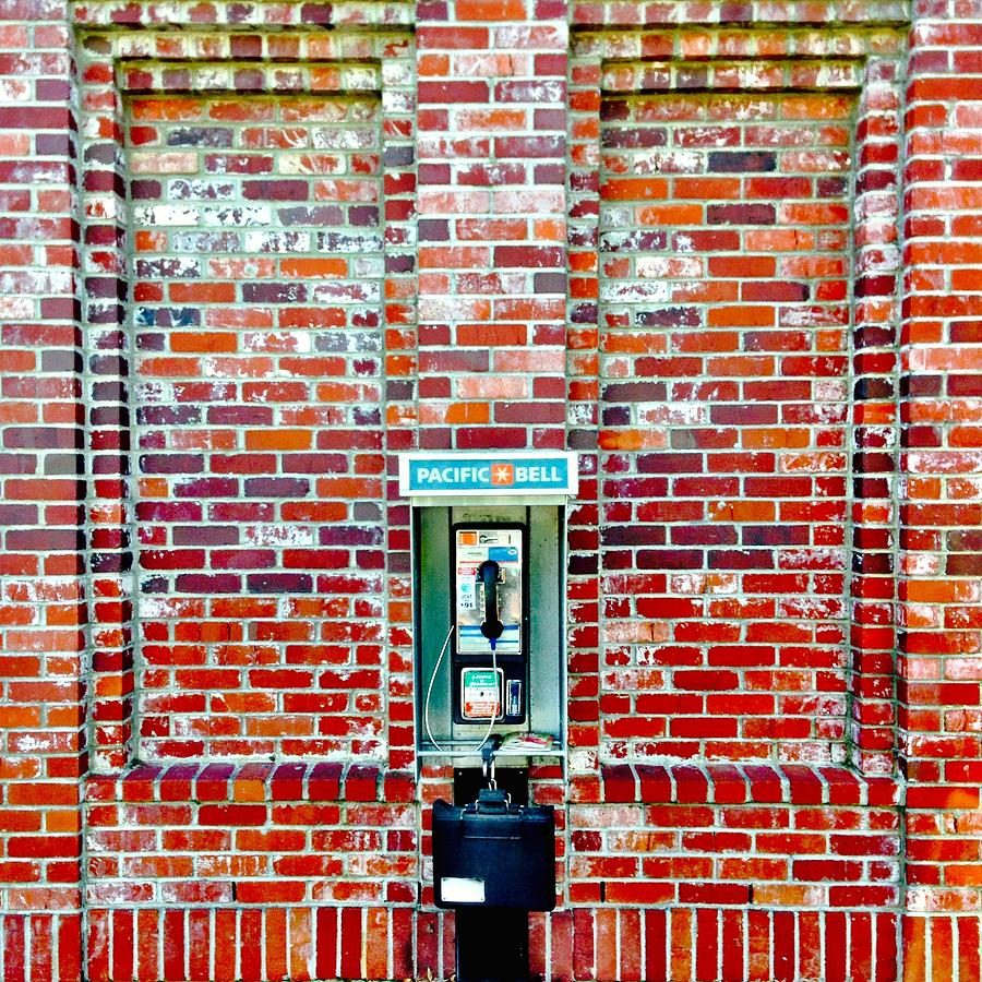Payphone Photograph by Julie Gebhardt