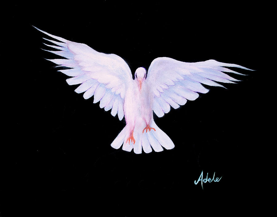 Peace Painting - Peace by Adele Moscaritolo