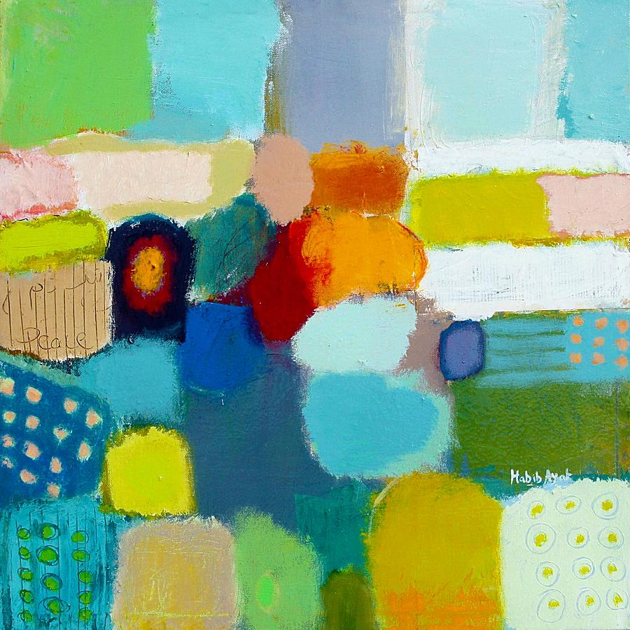 Peace Painting - Peace And Joy 3 by Habib Ayat