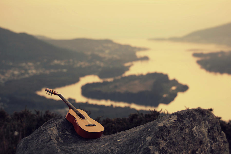 Peace And Music Photograph by Luis Valadares