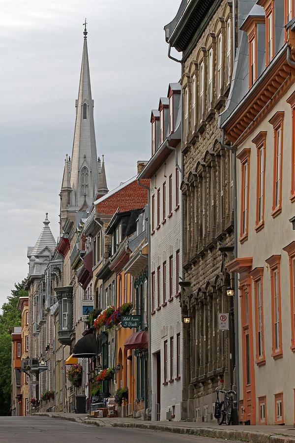 Rue De Sainte Ursule Photograph - Peace And Quiet Of Rue De Sainte Ursule by Juergen Roth
