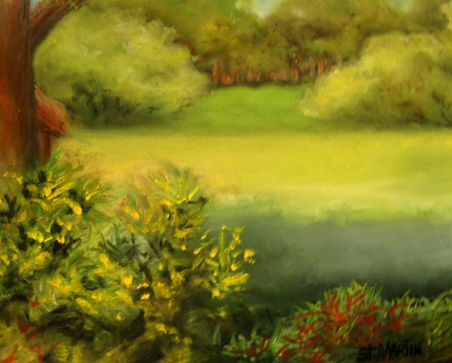 Southwest Florida Painting - Peace And Solitude by Annie St Martin