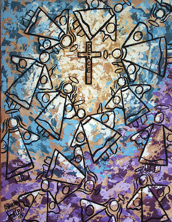 Peace Painting - Peace by Anthony Falbo