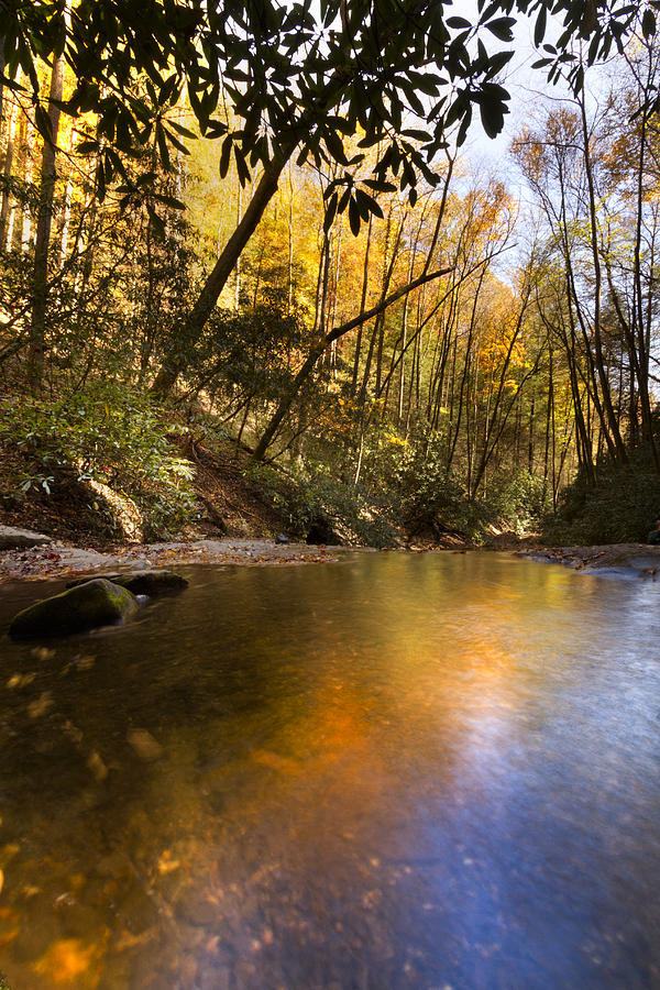 Appalachia Photograph - Peace Like A River by Debra and Dave Vanderlaan
