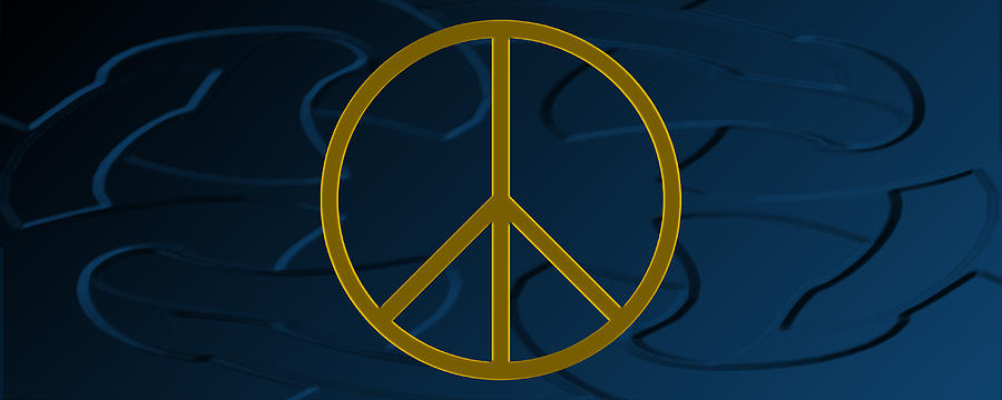 Peace Photograph - Peace Sign by Daryl Macintyre