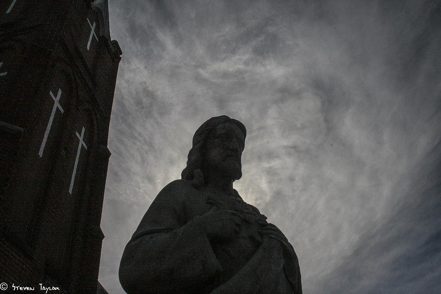 Jesus Photograph - Peace  by Steven  Taylor