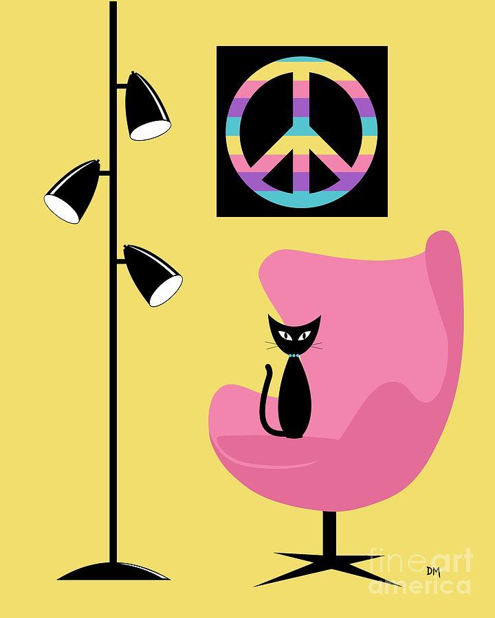 Peace Digital Art - Peace Symbol by Donna Mibus