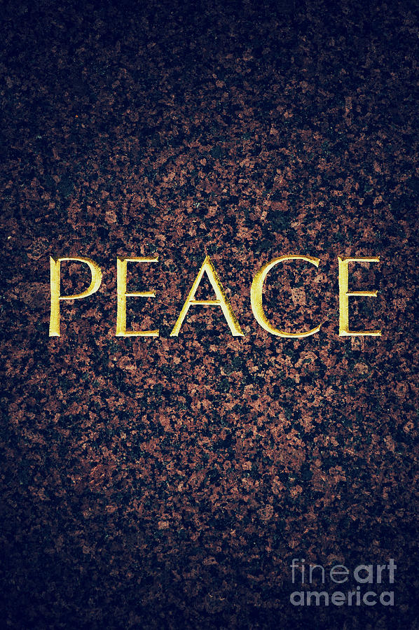 Peace Photograph - Peace by Tim Gainey