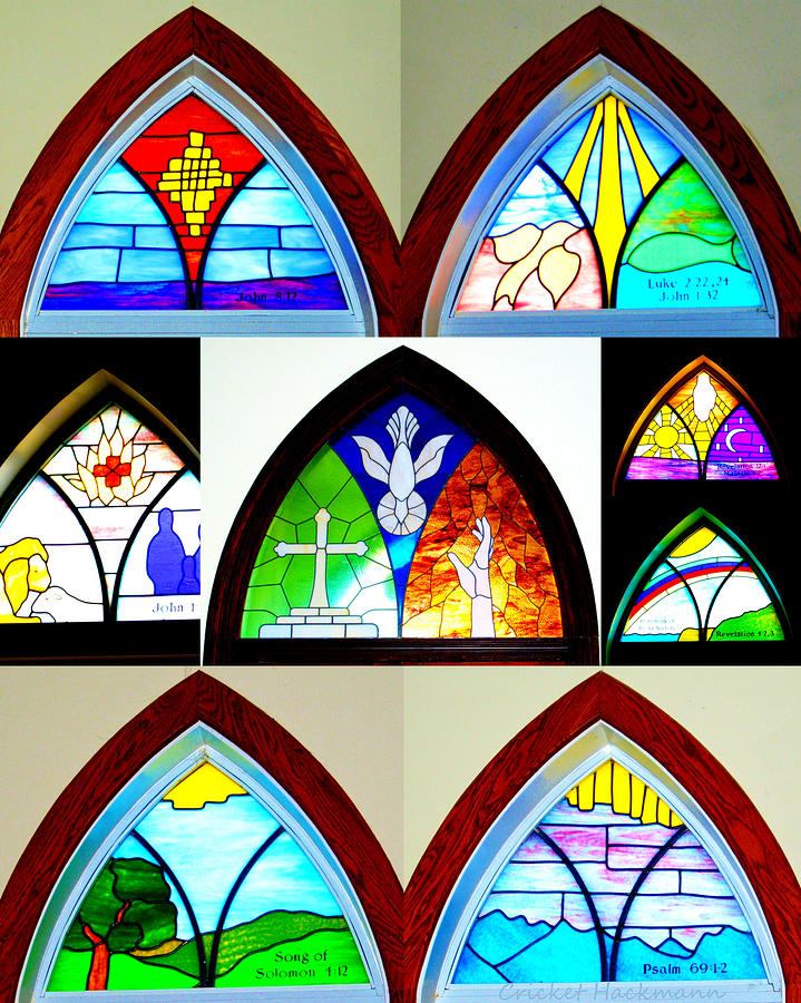 Peace Ucc Photograph - Peace To All Who Enter Here by Cricket Hackmann