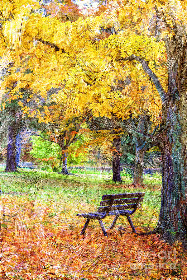 Kentucky Photograph - Peaceful Autumn by Darren Fisher