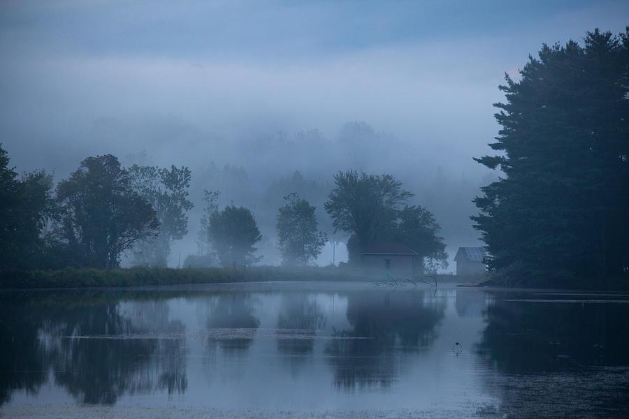 Landscape Photograph - Peaceful Blue by Karol Livote