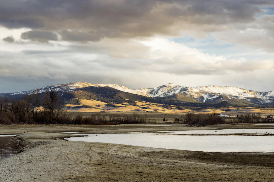 Mountains Photograph - Peaceful Day In Helena Montana by Dana Moyer