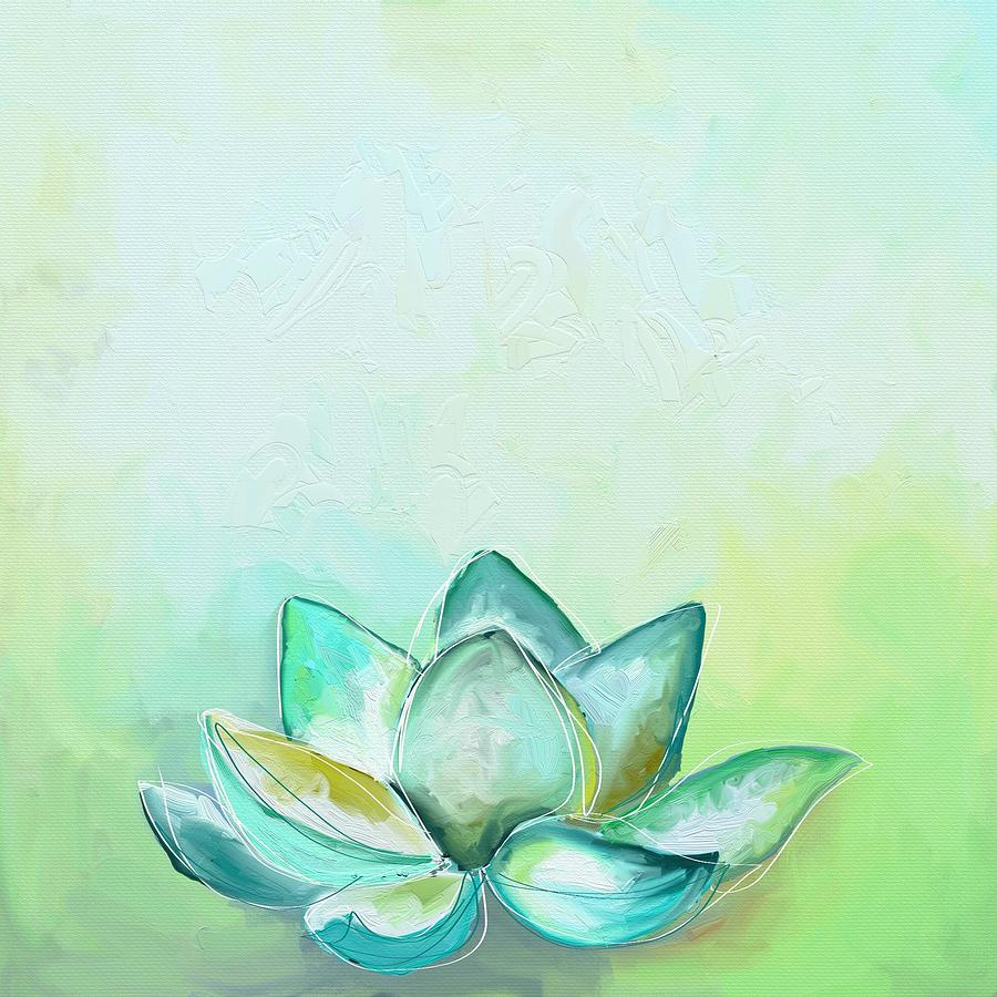 Lotus Photograph - Peaceful lotus by Cathy Walters