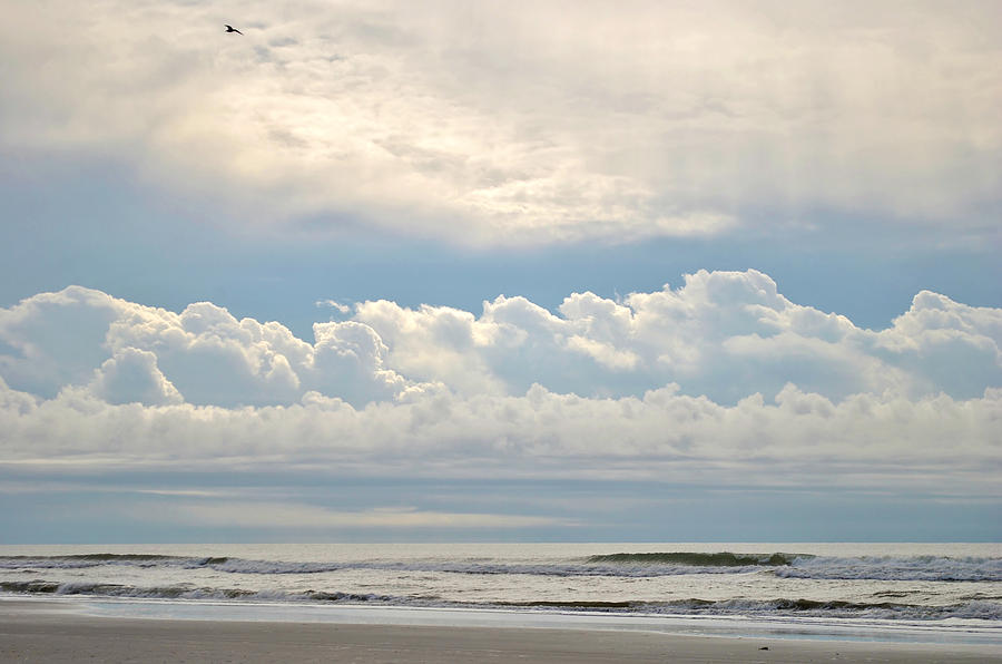 Ocean Photograph - Peaceful Morning by Kelly Nowak