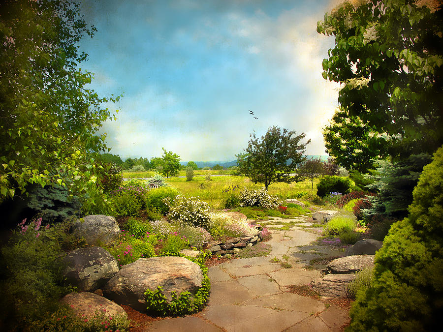 Landscape Photograph - Peaceful Path by Jessica Jenney