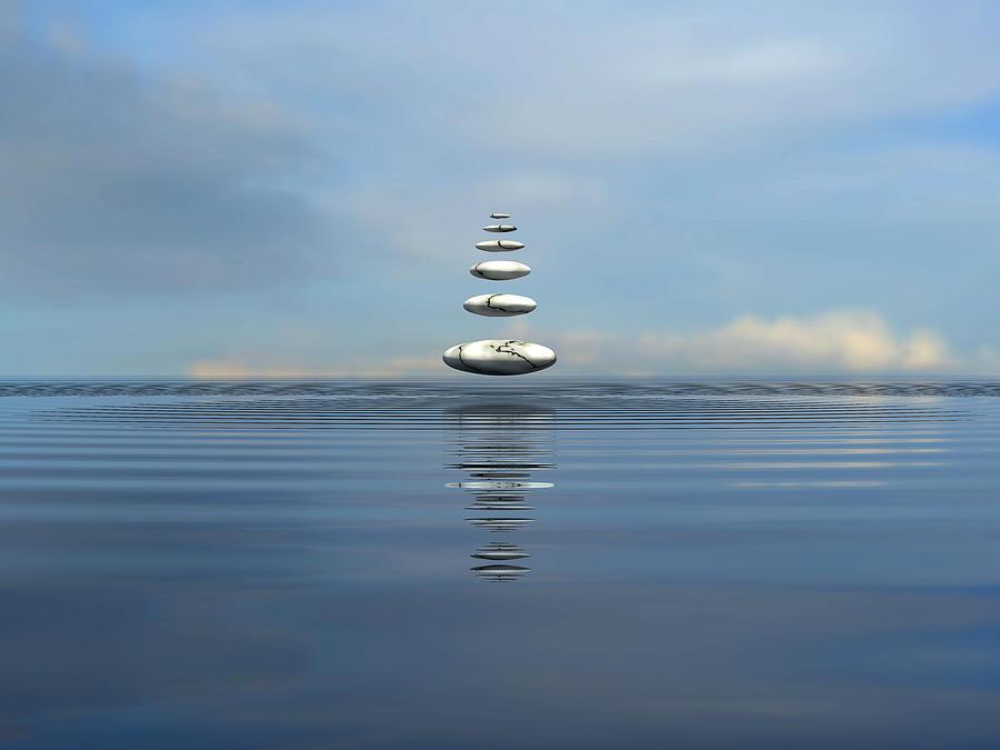 Peace Digital Art - Peaceful by Paul McManus