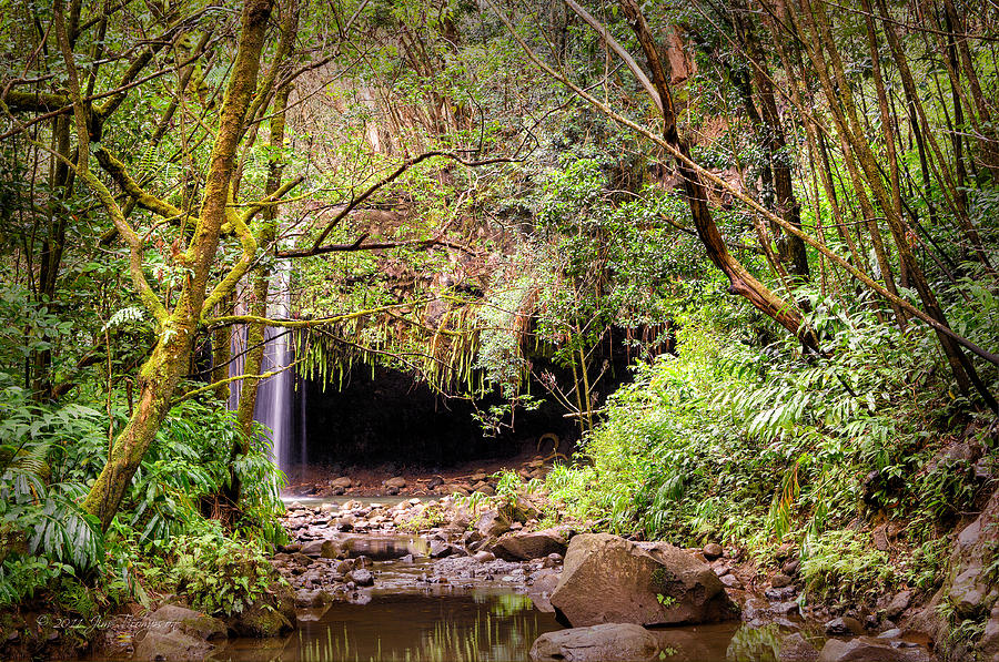 Waterfalls Photograph - Peaceful Place by Jim Thompson