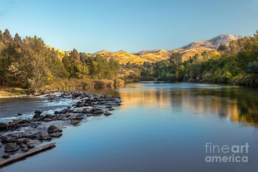 Idaho Photograph - Peaceful River by Robert Bales