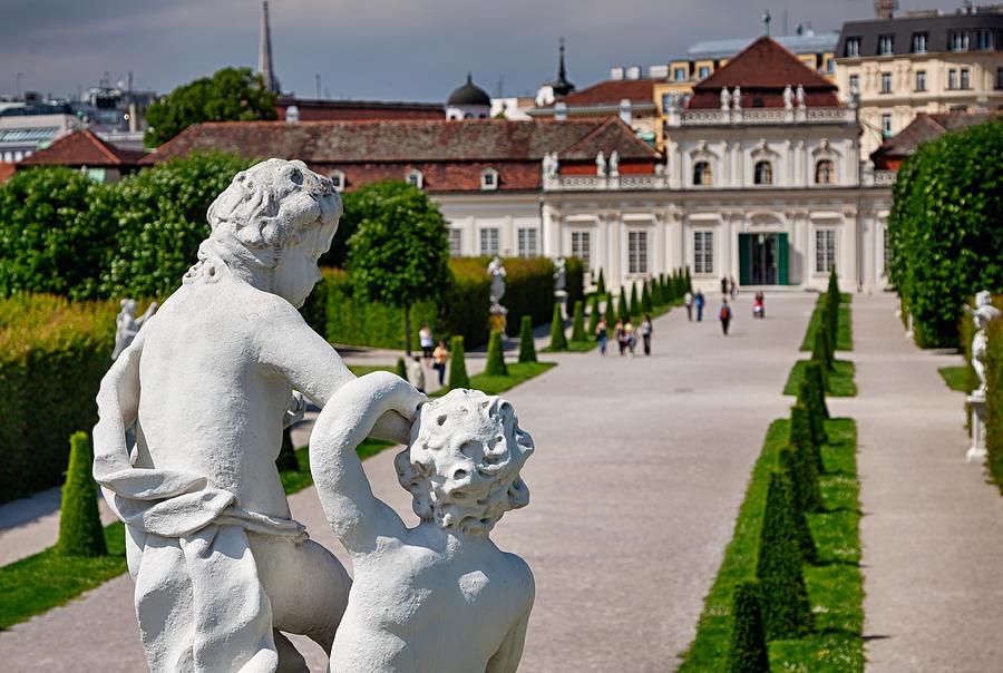 Vienna Photograph - Peaceful Sculpture by Viacheslav Savitskiy