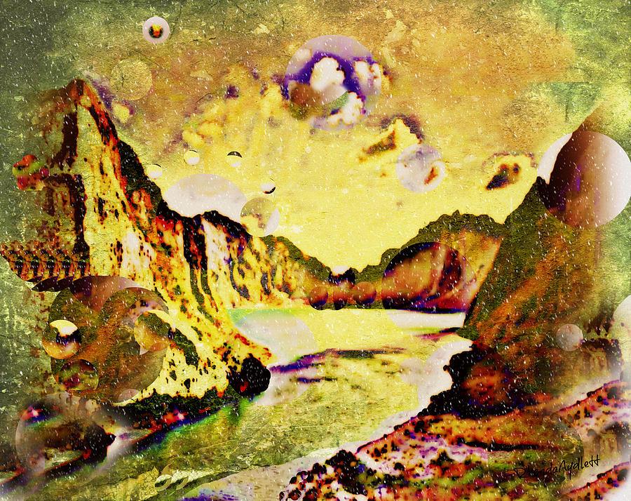 Mountain Top Mixed Media - Peaceful Secret by YoMamaBird Rhonda