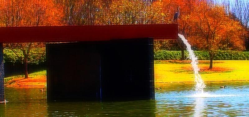 Pond Photograph - Peaceful Spring by Sarah E Kohara
