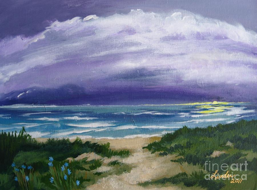 Sunrise Painting - Peaceful Sunrise by J Linder