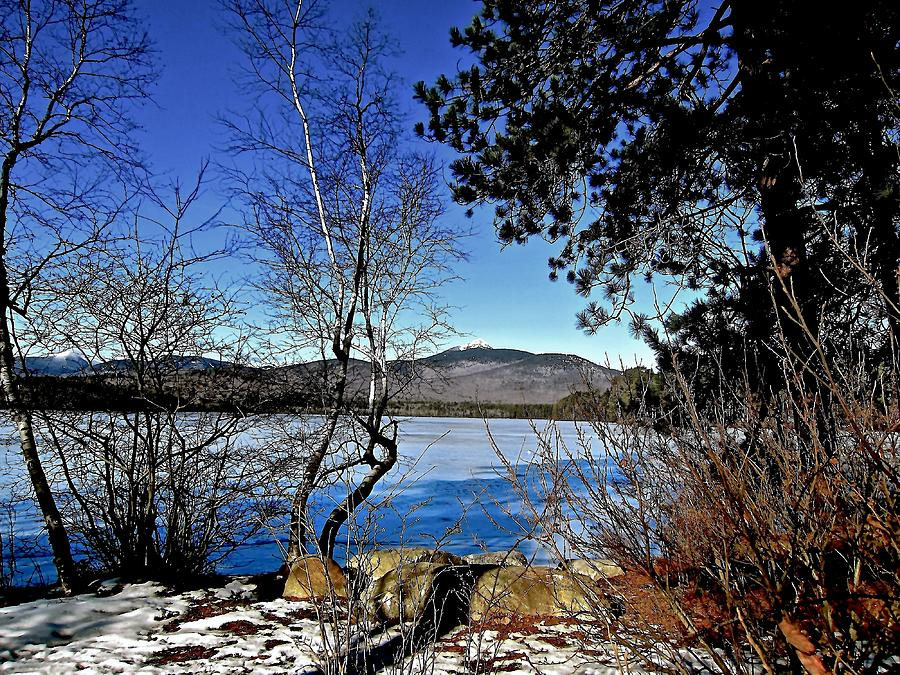 Winter Photograph - Peaceful Winter Day by Elizabeth Tillar
