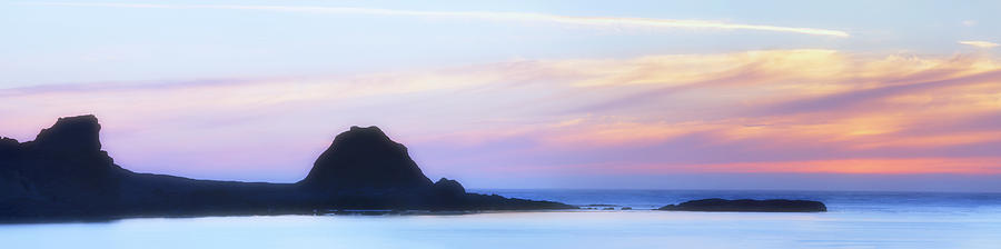 Sunset Bay State Park Photograph - Peacefull Hues by Mark Kiver