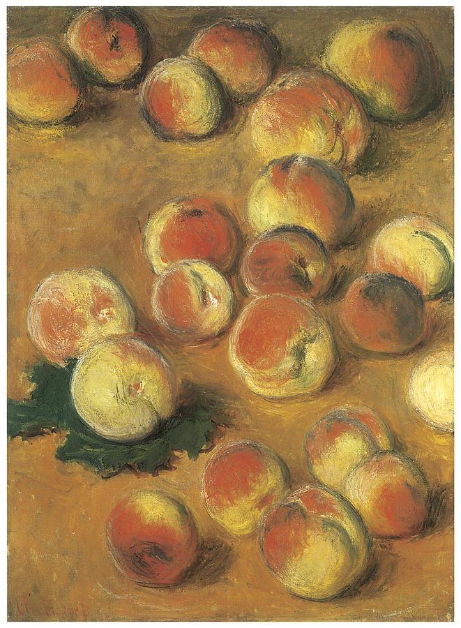 Peaches Painting - Peaches by Claude Monet