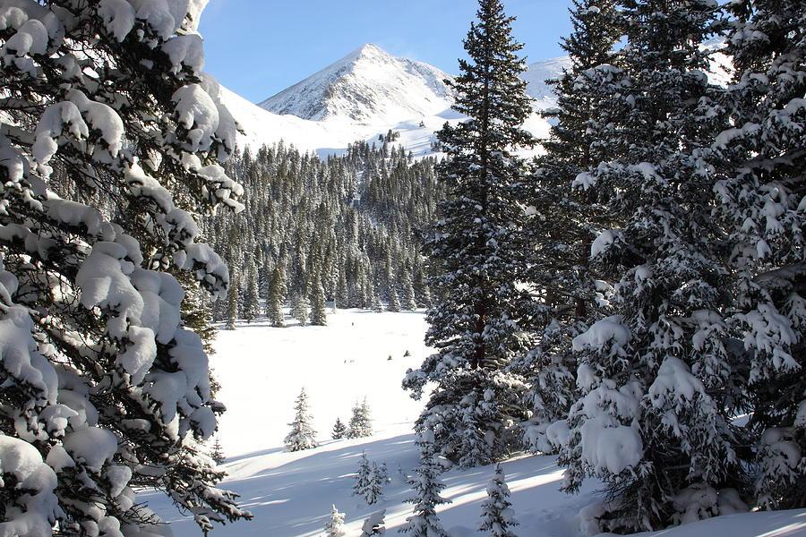 Colorado Photograph - Peak Peek by Eric Glaser