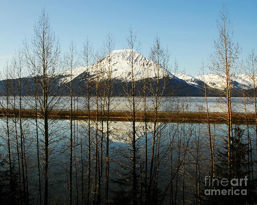 Mountain Peaks Photograph - Peak Reflections 1 by Mel Steinhauer