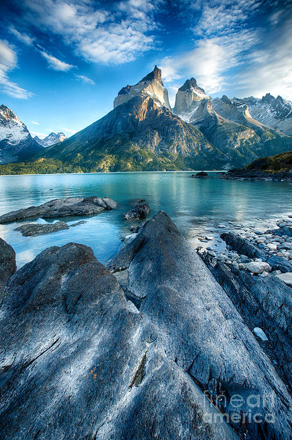Patagonia Photograph - Peaks In Patagonia by Timothy Hacker