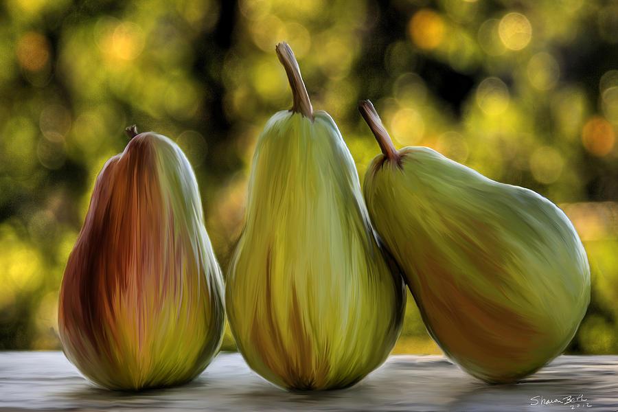 Pear Buddies by Sharon Beth