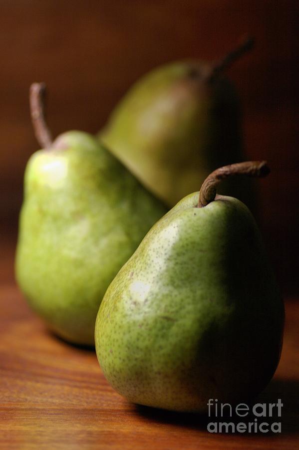 Pear Photograph - Pear Delight by Joy Watson