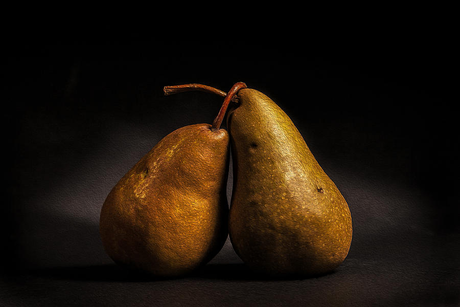 Dutch Masters Photograph - Pear Of Lovers by Peter Tellone