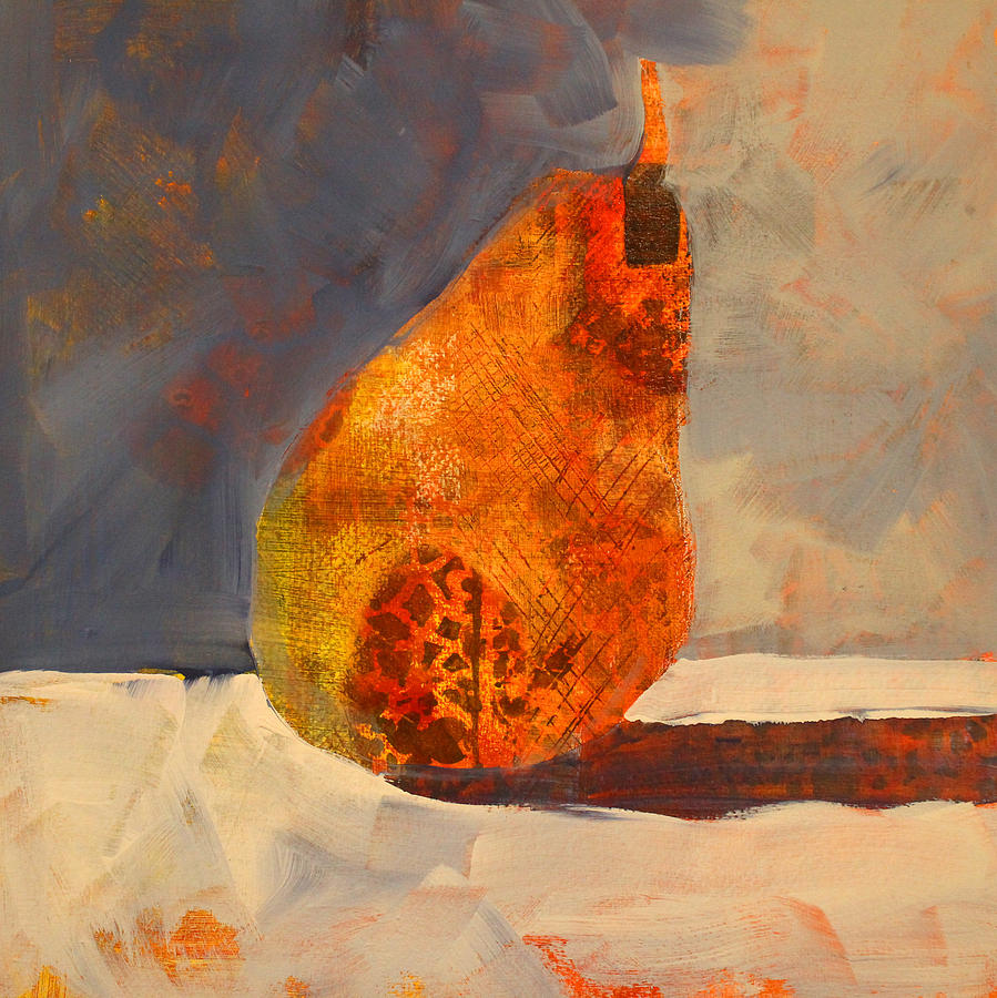 Pear Painting - Pear Patterns by Nancy Merkle