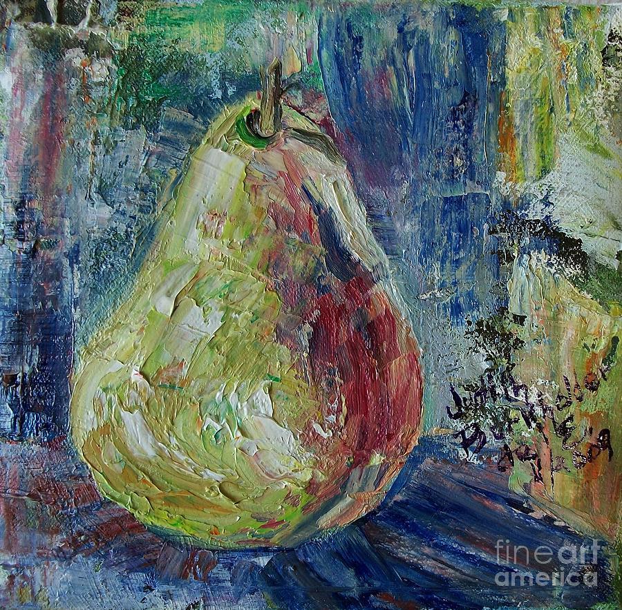 Pear Painting - Pear - Sold by Judith Espinoza