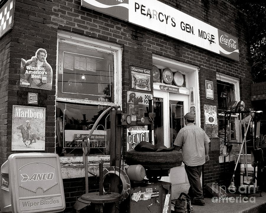 General Store Photograph - Pearcy S  Gen Mdse  by   Joe Beasley