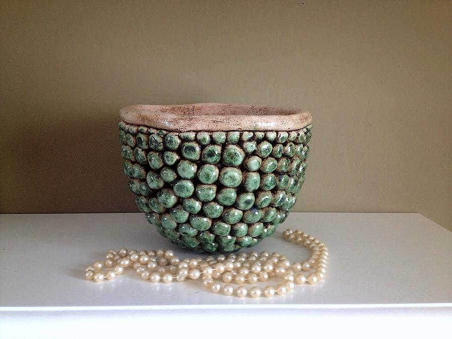 Pearl Ceramic Art by Cigdem Cigdem