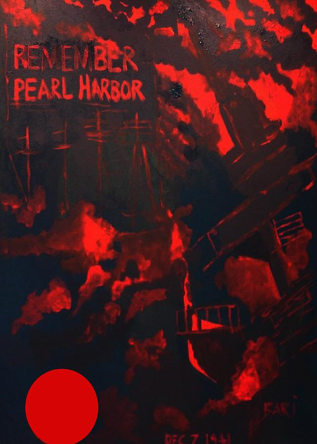 Pearl Harbor Painting - Pearl Harbor Oahu by Bari Demers