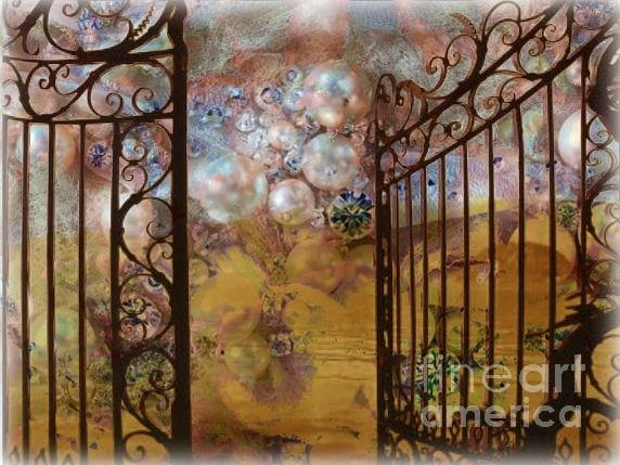 Gates Photograph - Pearly Gates by Lisa Van der Plas
