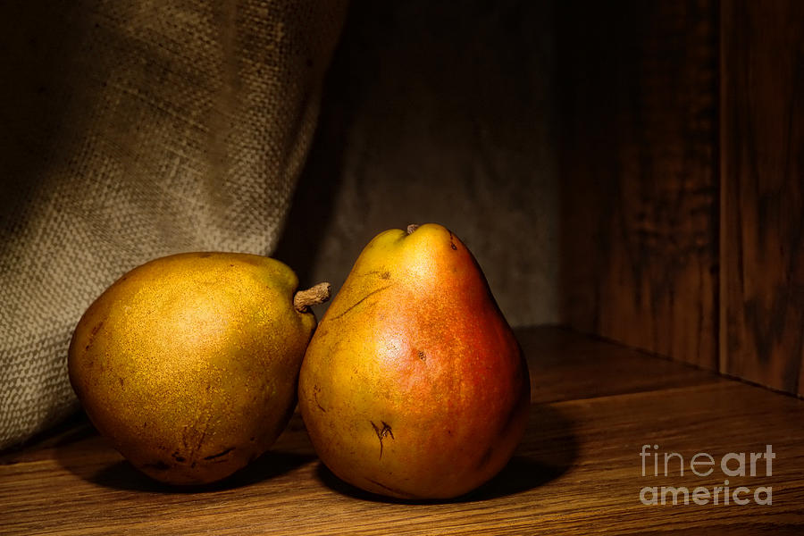 Pears Photograph - Pears by Olivier Le Queinec