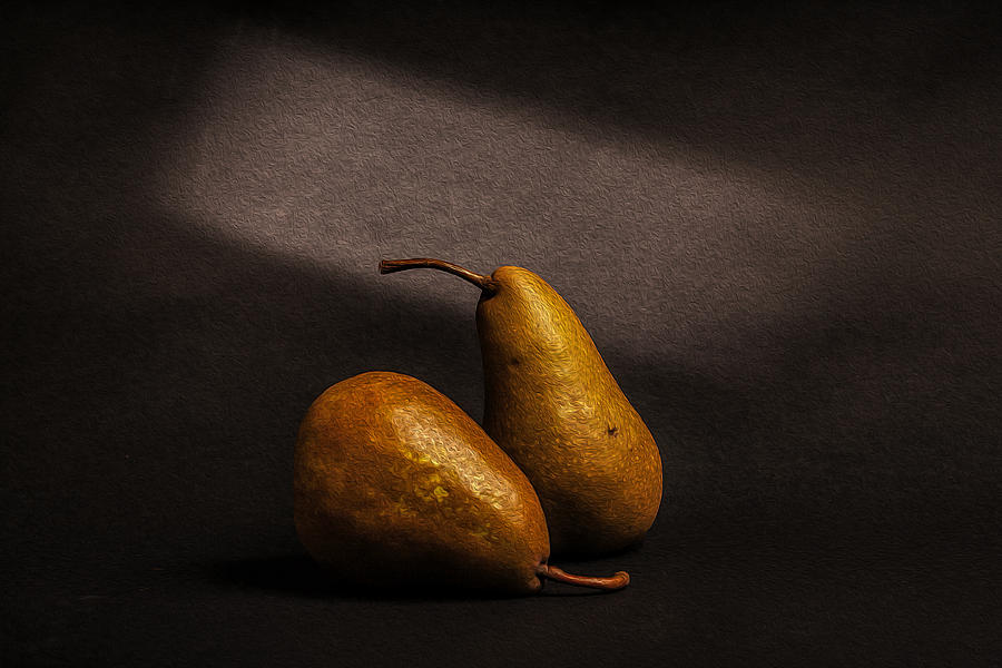 Dutch Masters Photograph - Pears by Peter Tellone