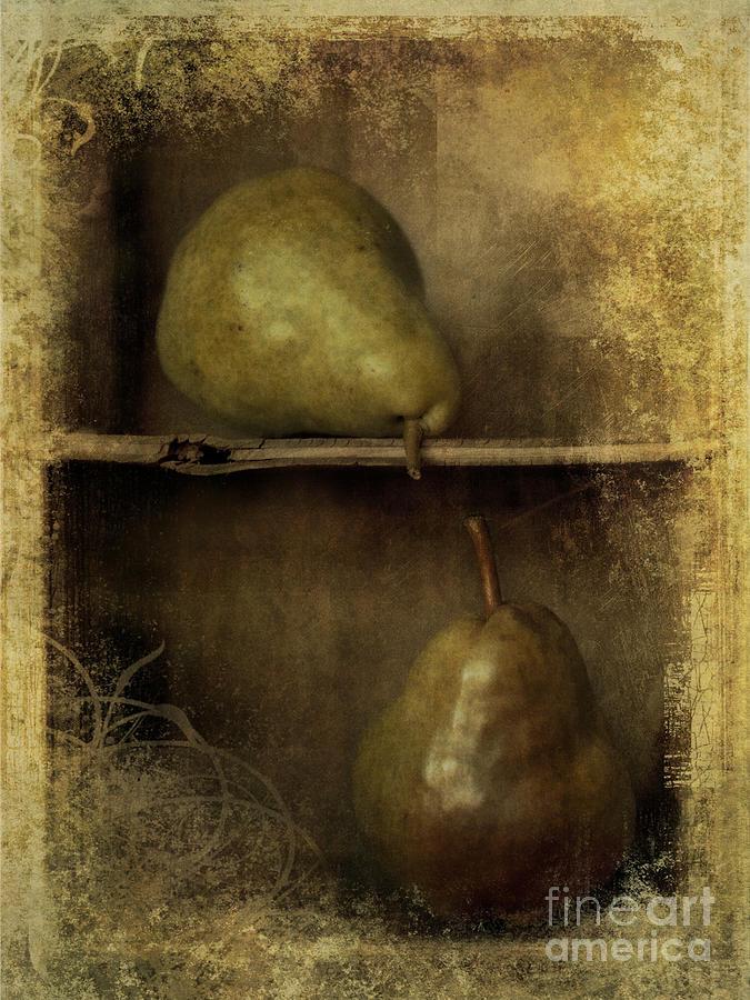 2 Photograph - Pears by Priska Wettstein
