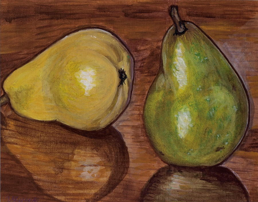 Pear Painting - Pears by Vera Lysenko