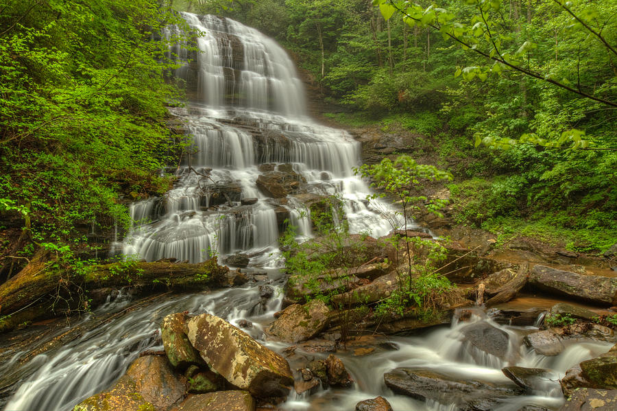 Water Photograph - Pearsons Falls - Spring by Doug McPherson