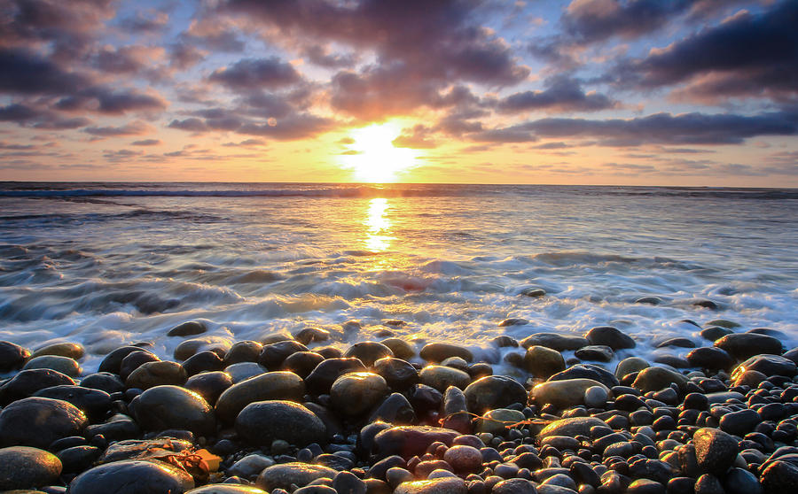 Pebble Beach Photograph - Pebble Beach by Robert  Aycock