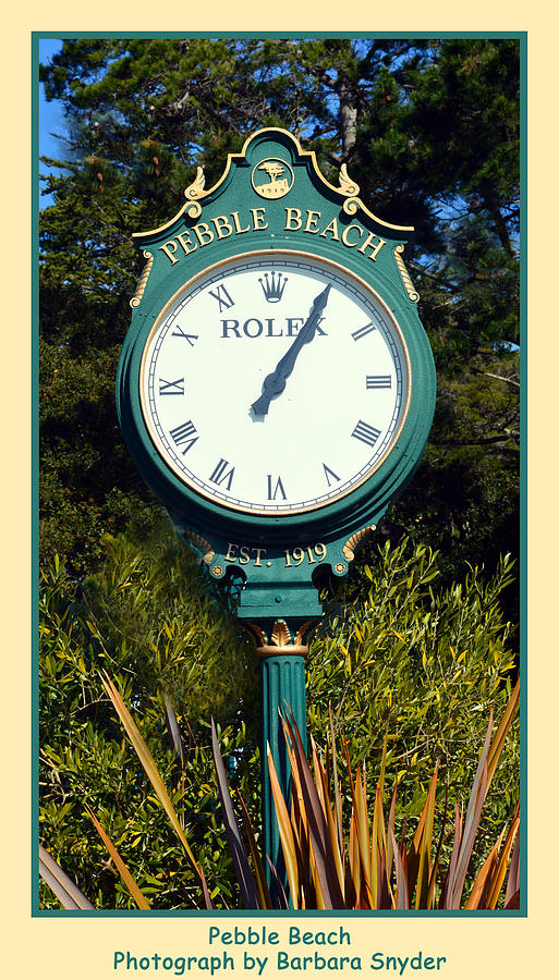 rolex golf clock for sale