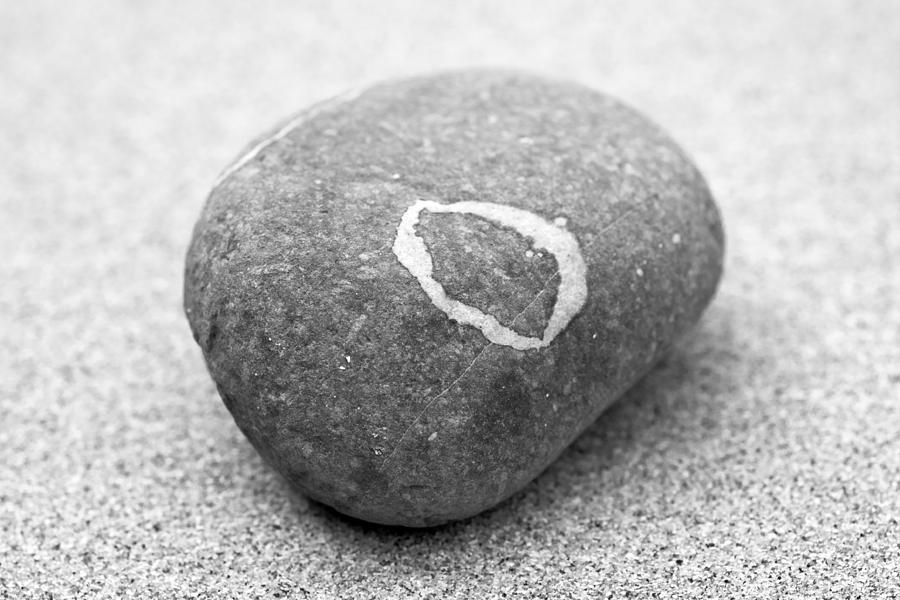 Zen Photograph - Pebble by Frank Tschakert